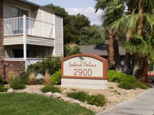 las vegas apartments: palms