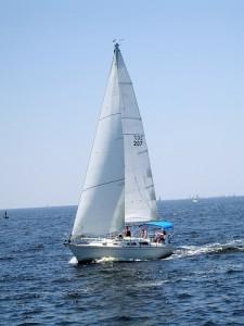 las vegas apartments: sailboat