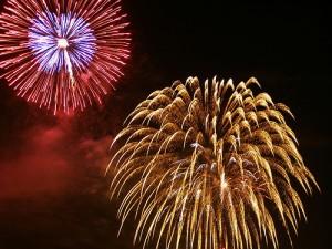 apts las vegas: fireworks