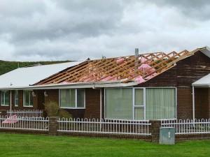 apts las vegas: wind damage